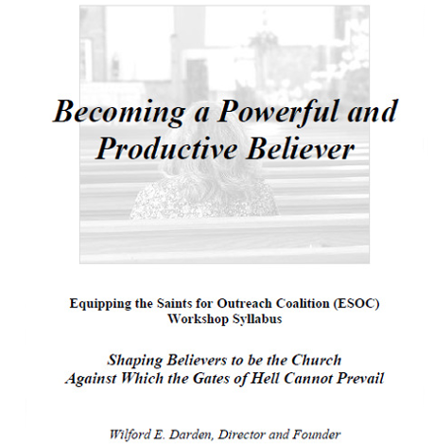 Becoming a Powerful and Productive Believer Cover